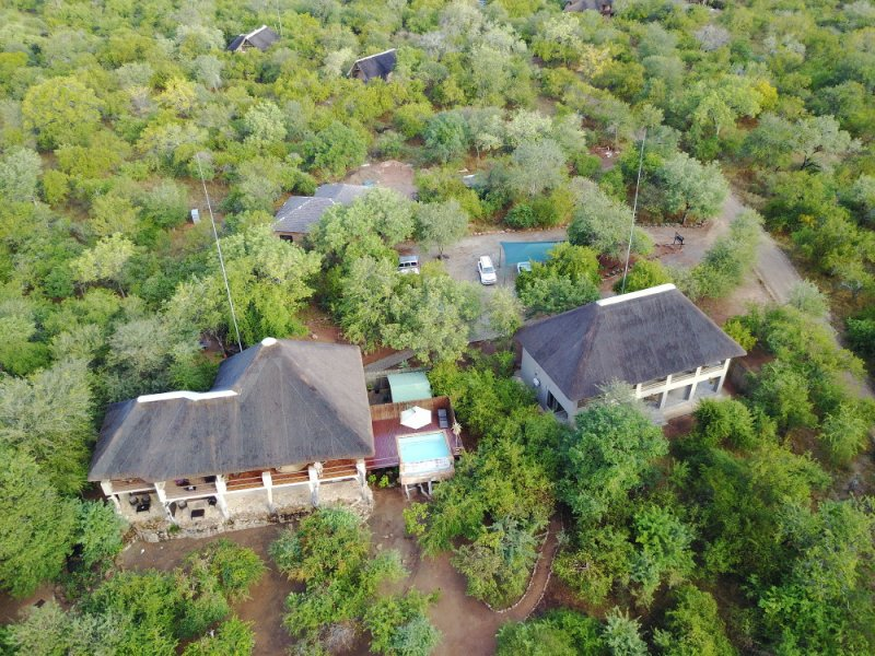 Aerial View of Bushwise Safaris