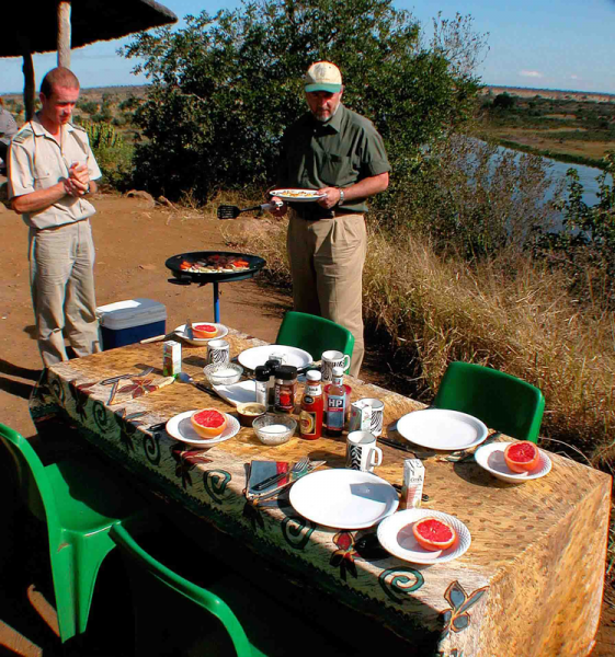 Bush Breakfast in the Kruger